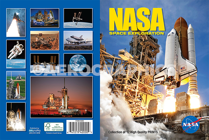 NASA Maxi Pack (12 postcards)