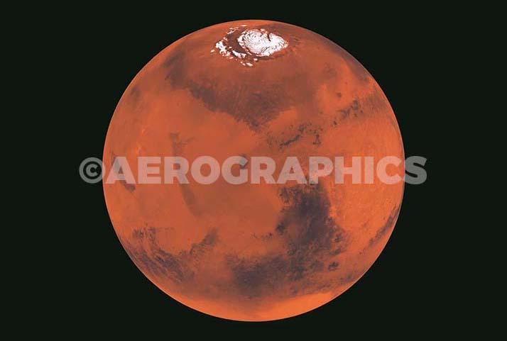 Mars B-2147 postcard