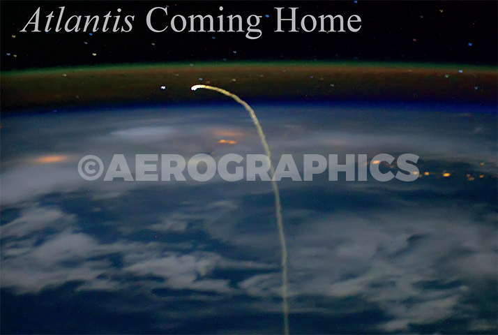 Atlantis Coming Home STS-134