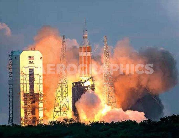 Orion EFT-1 postcard