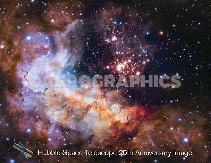 Hubble Anniversary postcard B-2267