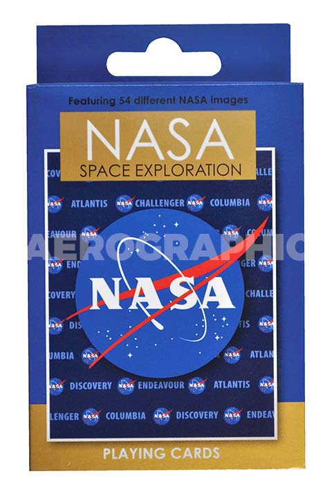 Nasa Logo Playing Cards