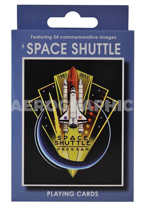 End of Shuttle Program Logo Cards