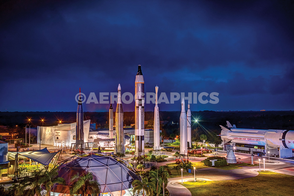 KSC Visitor Complex Rocket Garden