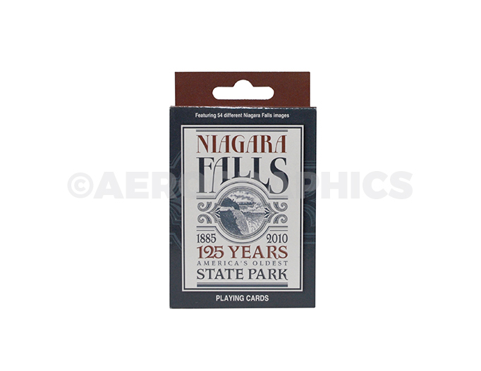 Niagara Falls 125 years America's Oldest State Park Playing Cards