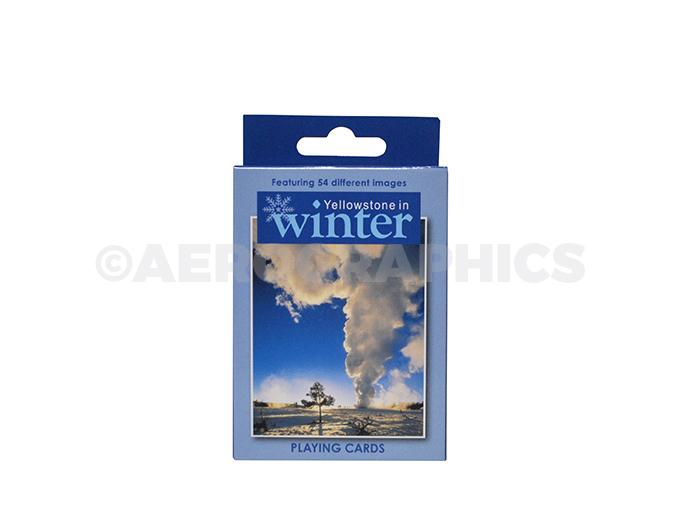 Yellowstone Winter Playing Cards