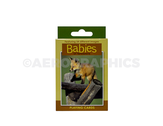 Yellowstone Babies Playing Cards