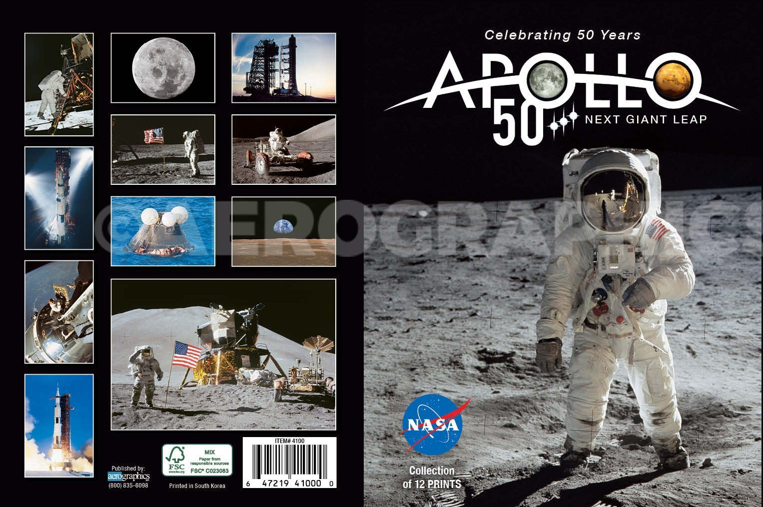 Apollo Maxi Pack (12 Postcards) 4100