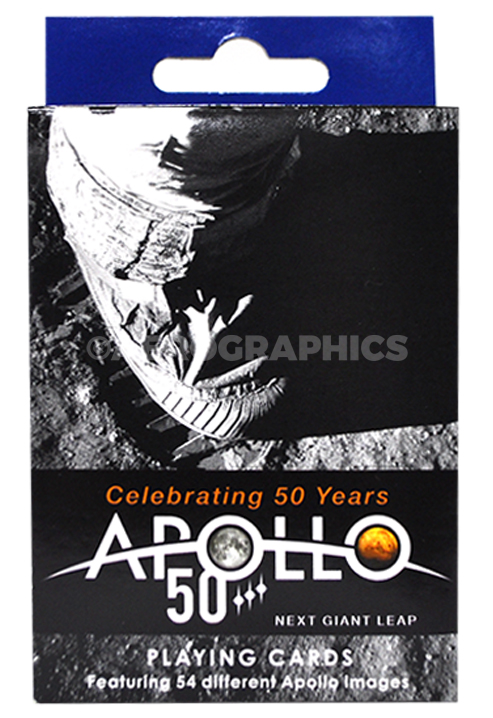 Apollo 50 Years Playing Cards PC-1009