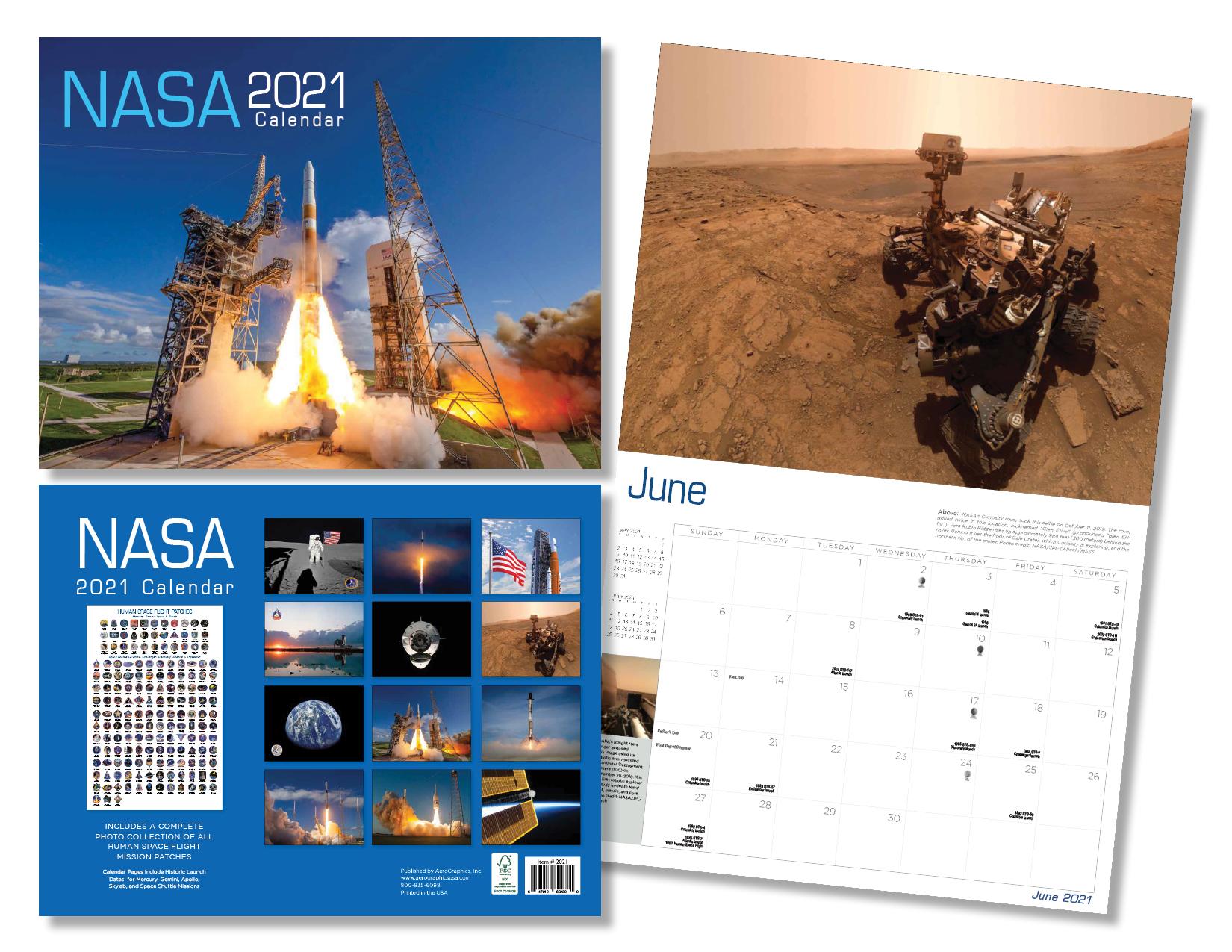 2021 NASA Calendar